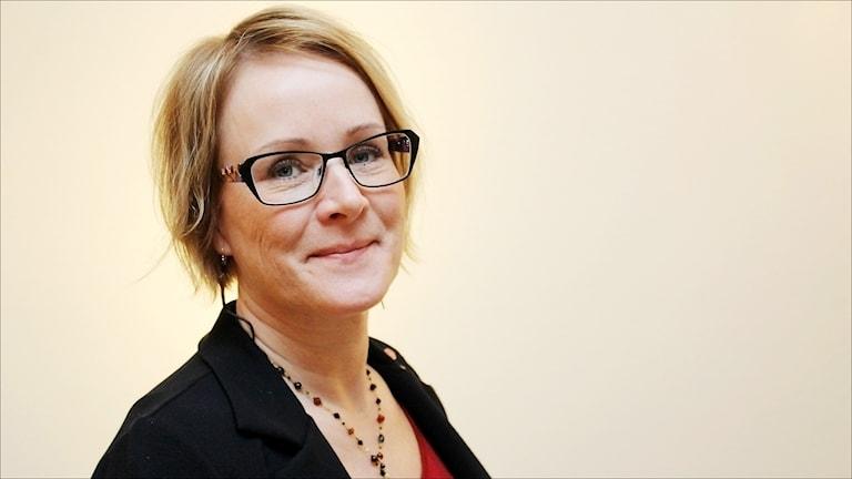 Maria Stenberg (S) landstingsråd i Norrbotten. Foto Stig-Arne Nordström/Sveriges Radio.