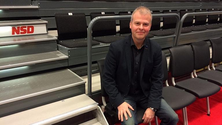 Urban Nordh, klubbdirektör för Luleå Basket.