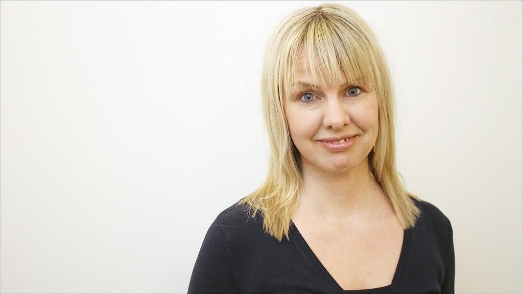 Ann Gustavsson. Foto Stig-Arne Nordström/Sveriges Radio.