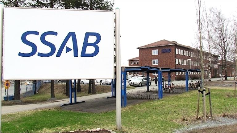 SSAB Luleå. Foto Hjalmar Lindberg / Sveriges Radio.