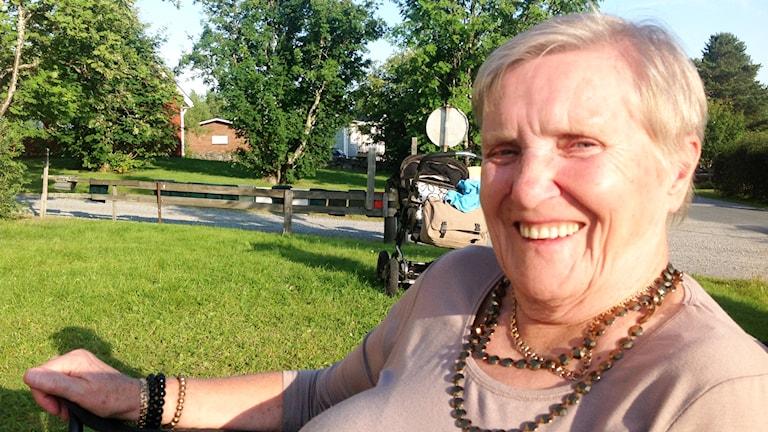 Elsa Öhman från Övertorneå. Foto. Privat