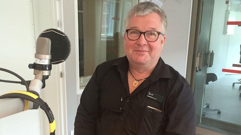 Bernt Jansson. Foto: Linnea Luttu/Sveriges Radio.