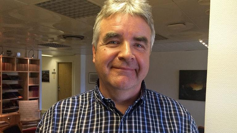 Nils Edberg. Foto: Ulf Larsson/Sveriges Radio.