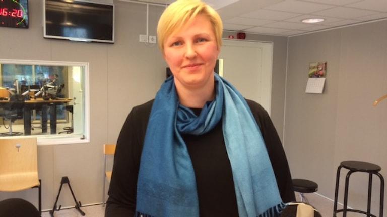 Carina Sammeli (S). Foto: André Pettersson/Sveriges Radio.