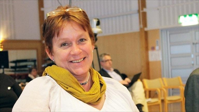 Anne Kotavuopio Jatko i  FP:s landstingsgrupp. Foto Stig-Arne Nordström /Sveriges Radio.