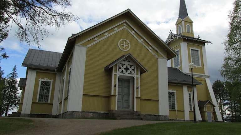 Pajala kyrka Foto: Eva Kvist/ Sveriges Radio