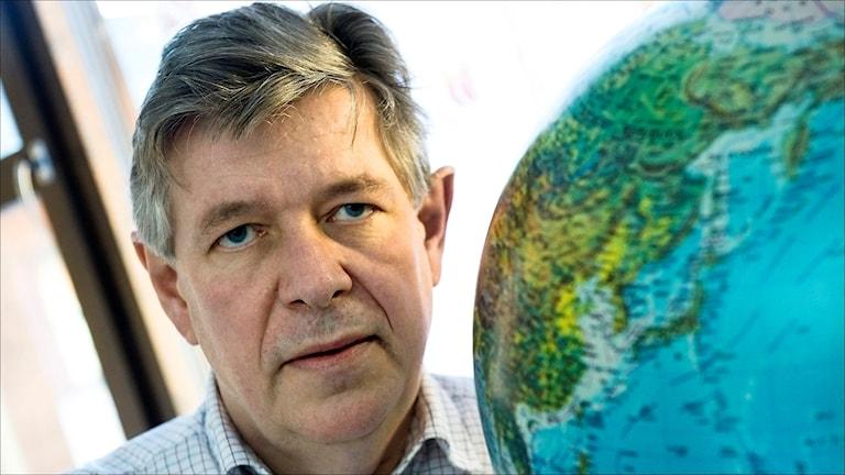 Seismologen Reynir Bödvarsson.  Foto Claudio Brescani / TT