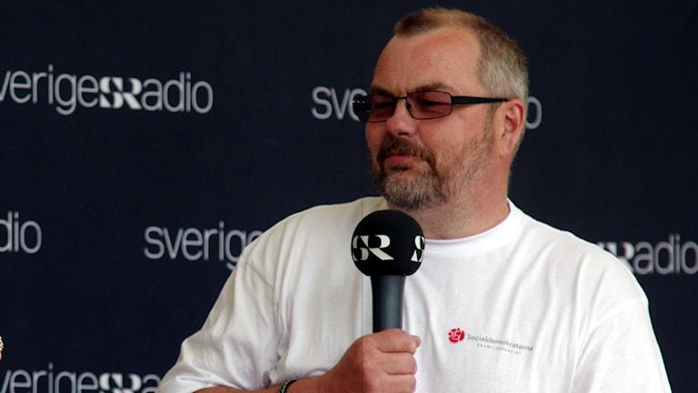 Harry Rantakyrö socialdemokratiskt kommunalråd i Pajala. Foto: Sveriges Radio