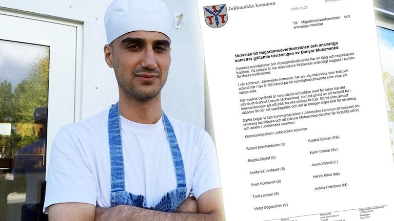 Danyar Mohammed får stöd av kommunstyrelsen i Jokkmokk.
