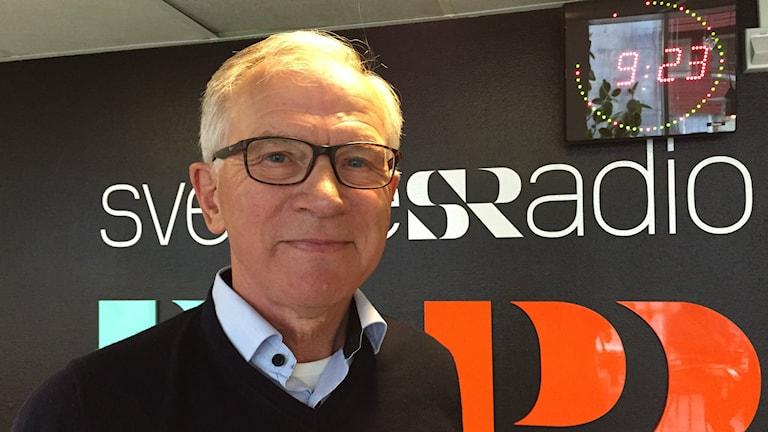 Karl Petersen. Foto: Fanny Bergvall/Sveriges Radio