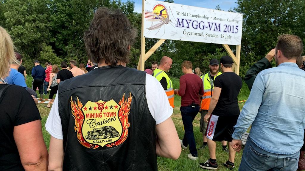 Mygg-VM i Övertorneå anno 2015.