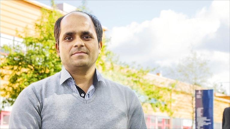 Madhav Mishra, forskare vid LTU. Foto Leif Nyberg, LTU.