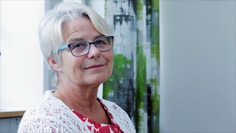 Helena Öhlund (S) kommunalråd Älvsbyn. Foto Stig-Arne Nordström / Sveriges Radio.