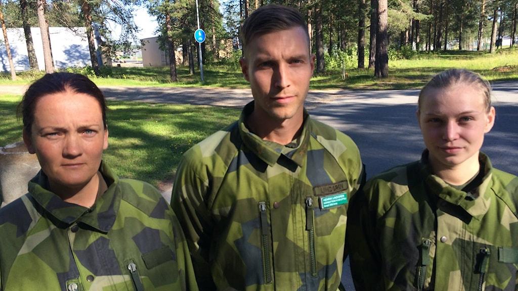 F21 rekryter. Foto: Anton Bennebrant/Sveriges Radio.