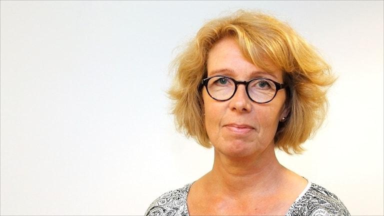 Veronika Sundström, landstingsdirektör Norrbotten. Foto Stig-Arne Nordström / Sveriges Radio.