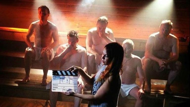 Bastu och balett i ny tv-serie. Foto: Massamedia