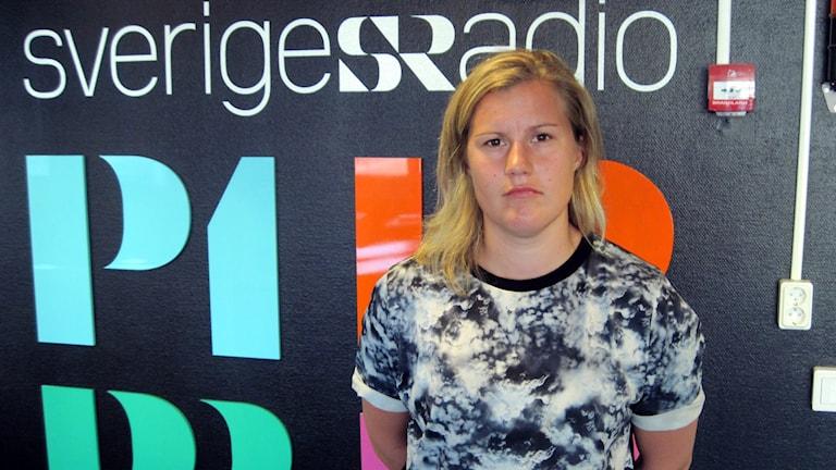 Emma Eliasson. Foto: Hjalmar Lindberg/Sveriges Radio.