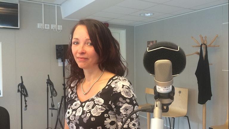 Gabriella Granbom, endometriosföreningen region Norr. Foto: Anton Bennebrant/SR