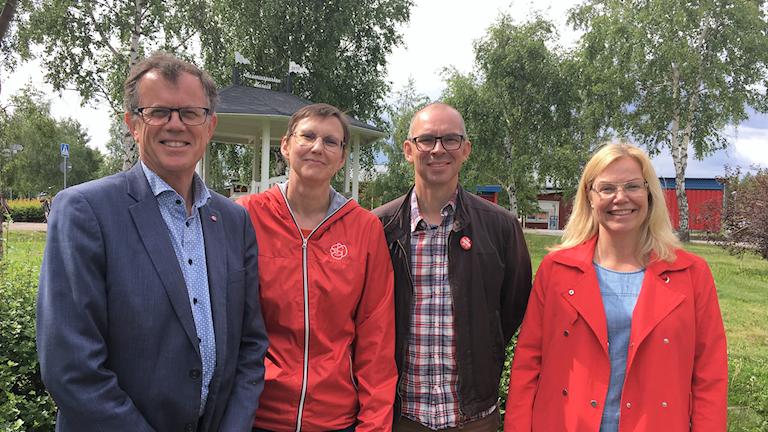 Socialdemokratiska kommunalråd Piteå och Luleå