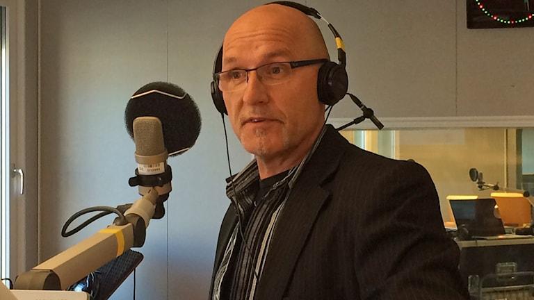 Lars Sandström, arbetsmarknadsförvaltningen på Luleå kommun. Foto: André Pettersson/Sveriges Radio.