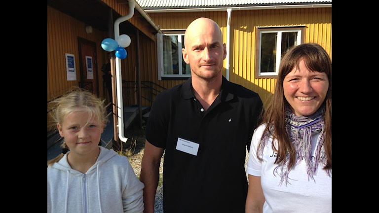 Ellen Eriksson, Magnus Fjällborg och Linda Bühlmann