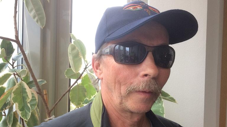 Världsresenären Bengt Enbuske, från Siekasjärvi i Övertorneå. Foto: Lena Callne/Sveriges Radio
