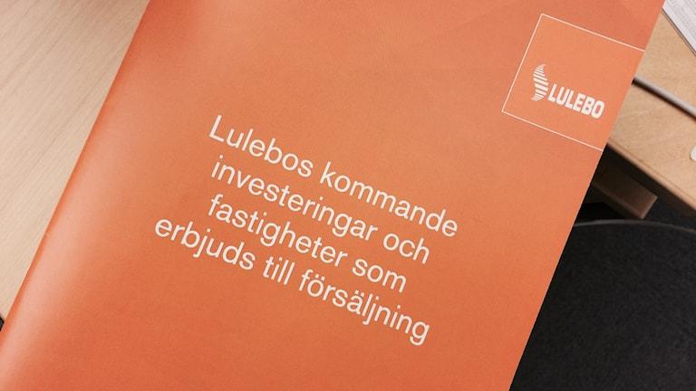 Lulebo, försäljning av fastigheter.