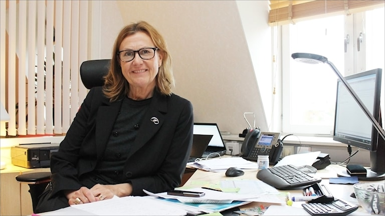 Anna-Stina Nordmark-Nilsson. Foto: Stig-Arne Nordström / Sveriges Radio.