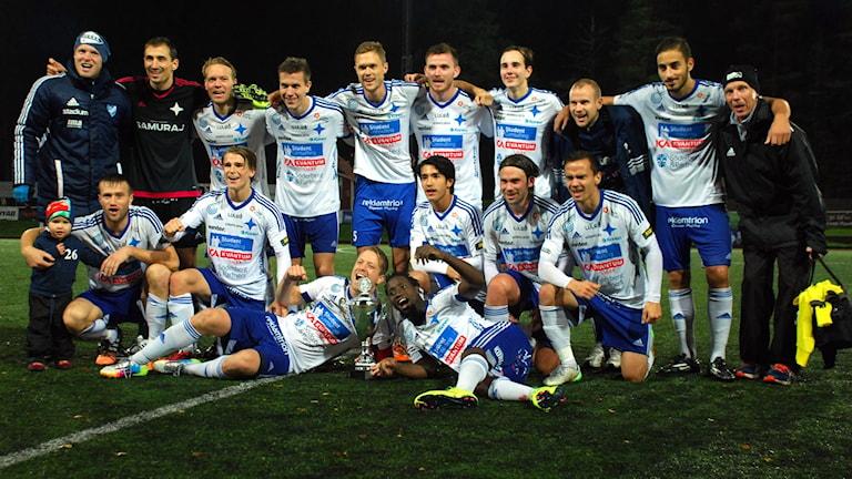IFK Luleå klara för Svenska Cupen. Foto: Hjalmar Lindberg/Sveriges Radio
