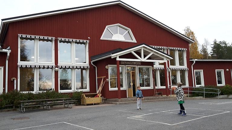 Skolan i Klöverträsk. Foto: Jonas Lundberg
