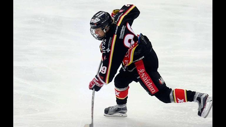 Luleå Hockey/MSSK. Foto: Alf Lindbergh/Pressbilder AB.