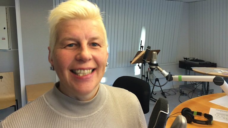 Anette Glad. Foto: Anton Bennebrant/Sveriges Radio.