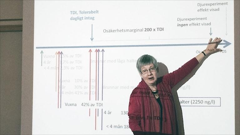 Kerstin Jakobsson. Foto: Eleonor Norgren/Sveriges Radio.