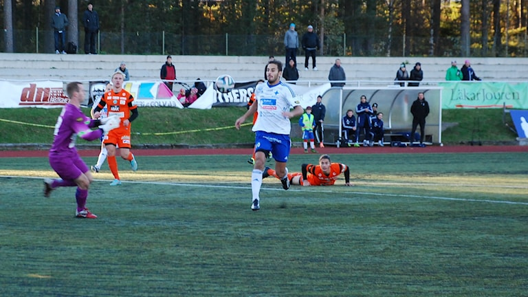 Erido Poli, IFK Luleå. Foto: Hjalmar Lindberg/Sveriges Radio