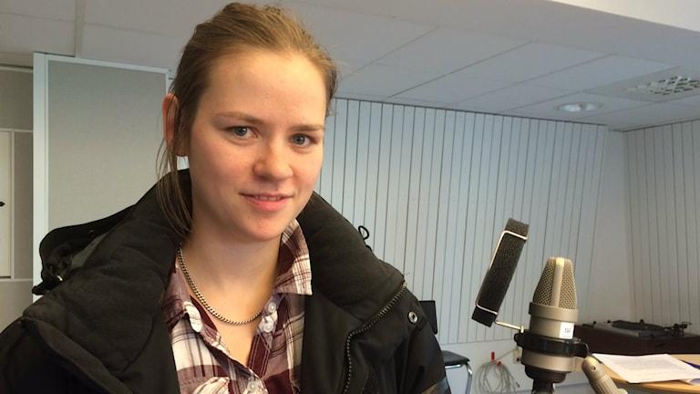 Sara Sundqvist. Foto: Lena Callne/Sveriges Radio.