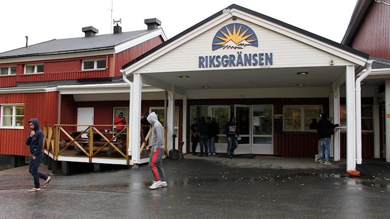 Riksgränsens fjällhotell. Foto Alexander Linder / Sveriges Radio.