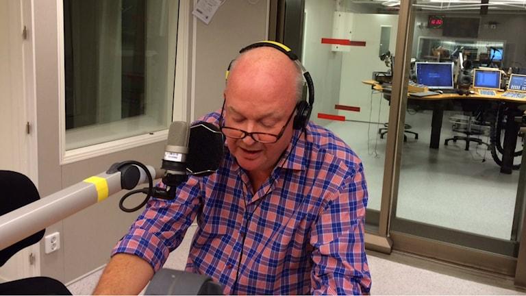 """Hans-Olov """"Hantis"""" Ohlsson. Foto: André Pettersson/Sveriges Radio."""