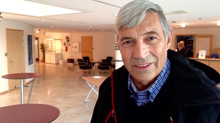 Johnny Åström, Norrbottens Sjukvårdsparti. Foto: Stig-Arne Nordström / Sveriges Radio.