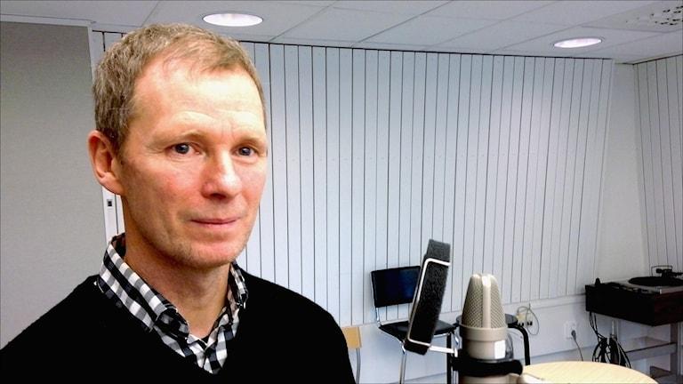 Dan Lundholm, utredare på Trafikverket. Foto: Anna Lidé / Sveriges Radio.
