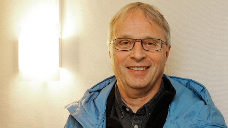 Torgny Olofsson, Polisfacket. Foto: Stig-Arne Nordström / Sveriges Radio.