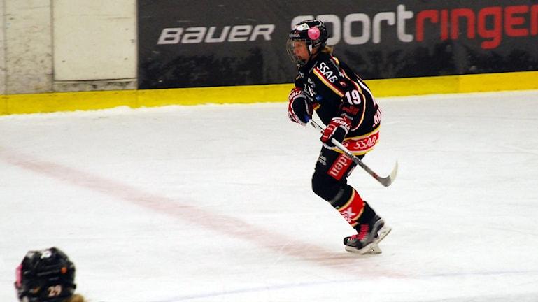 Emma Eliasson, Luleå hockey/MSSK. Foto: Hjalmar Lindberg/Sveriges Radio