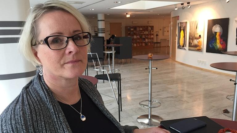 Maria Stenberg (S), ordförande regionstyrelsen