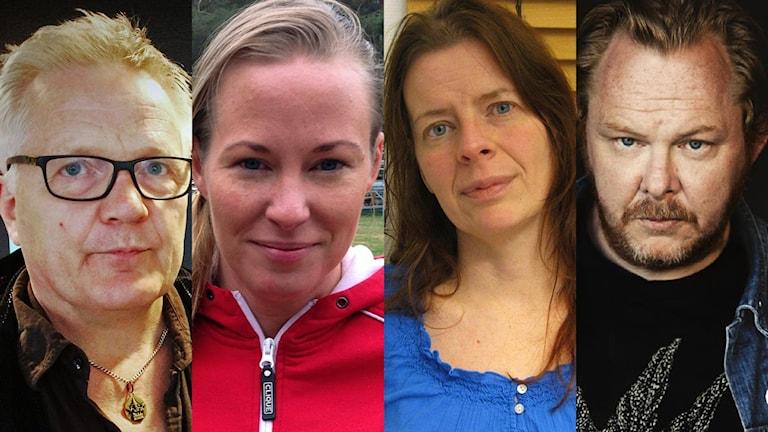 Peo Rask, Elisabeth Rosenbrand, Åsa Lundmark och Mattias Alkberg.