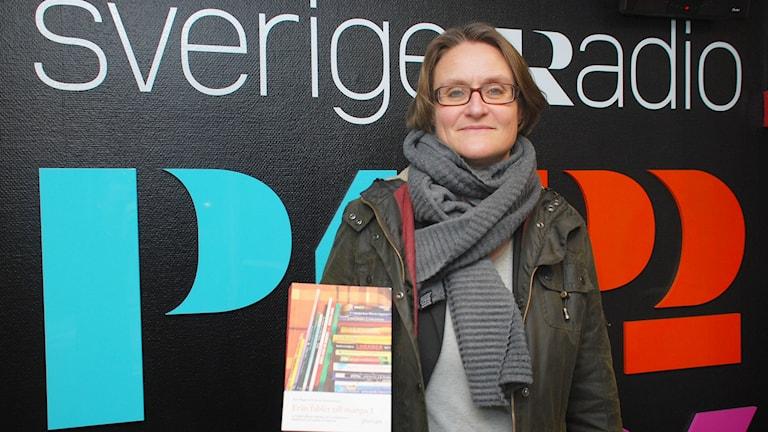 Anna Nordenstam, professor. Foto: André Pettersson/Sveriges Radio.