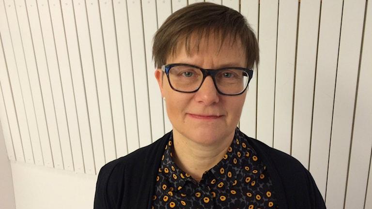 Katarina Kieri. Foto: Tova Nilsson/Sveriges Radio.