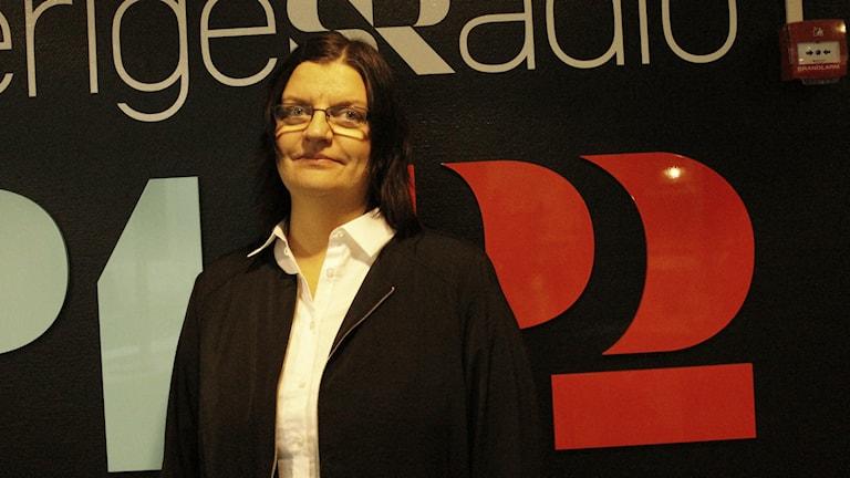 Ingela Rensfeldt. Foto: Fanny Bergvall/Sveriges Radio.