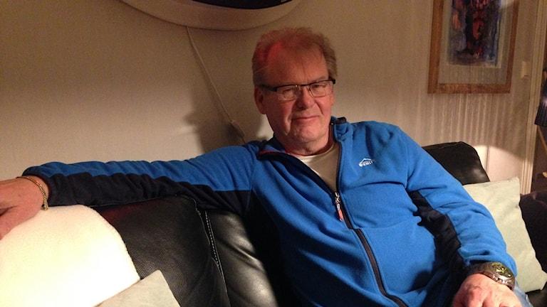 Göran Hedmark, god man. Foto: Martina Söderlind/Sveriges Radio