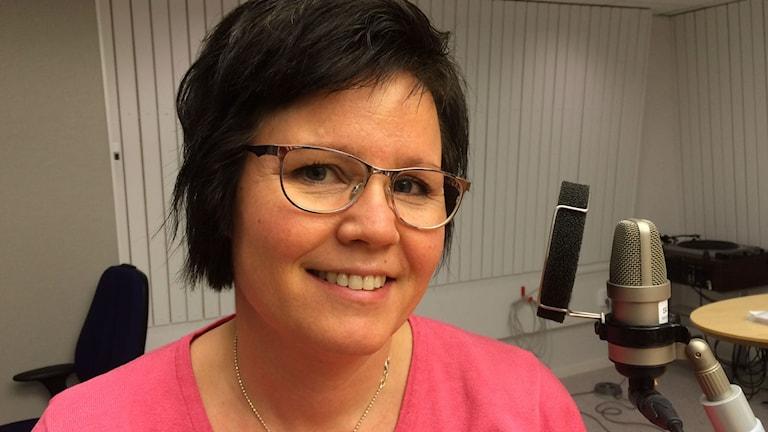 Siv Eliasson-Kurkinen, dietist på Sunderby sjukhus. Foto: Tova Nilsson/Sveriges Radio