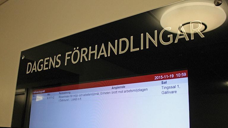 I maj 2010 dog två män när en hisskorg rasade ner i ett gruvschakt i Malmberget och igår avslutades rättegången i Gällivare tingsrätt.