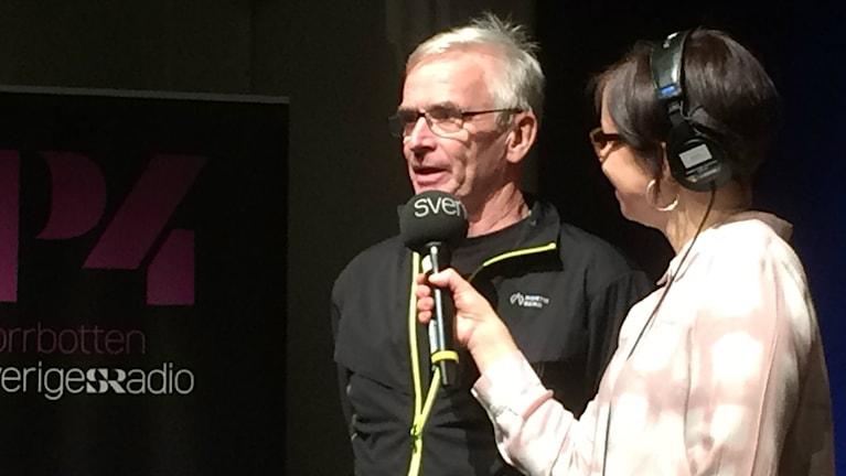 Sven-Åke Lundbäck. Foto: Eva Elke/Sveriges Radio.